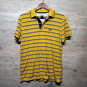 Hugo Boss Striped Polo Shirt. Perfect Condition!
